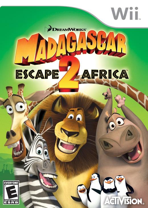 Madagascar: Escape 2 Africa for Wii