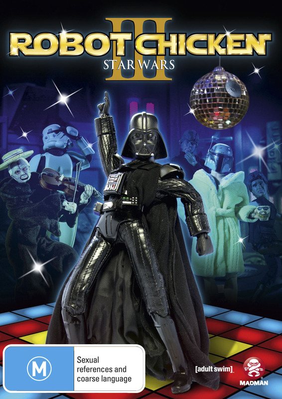 Robot Chicken: Star Wars Special - Episode 3 on DVD