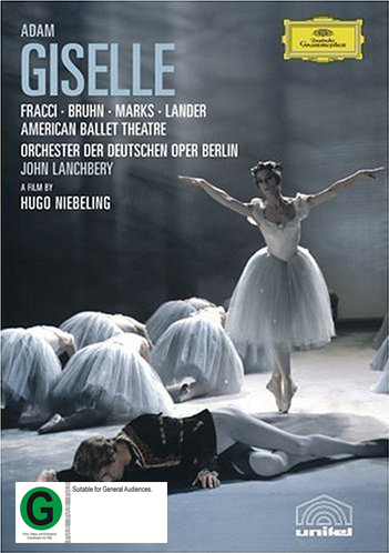 American Ballet/lanchbery: Adam: Giselle on DVD image