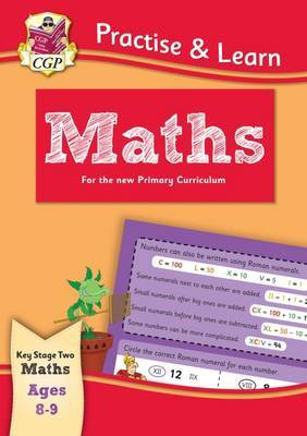 Practise & Learn: Maths (Ages 8-9) by CGP Books image