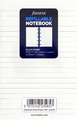 Filofax - Pocket Ruled Notebook Refill - White (32 Sheet)