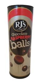 RJ's Chocolate Raspberry Balls Tube 320g