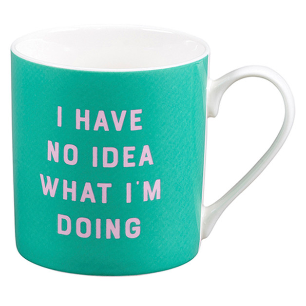 Yes Studio: Ceramic Mug - I Have No