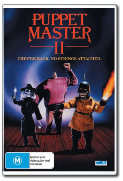 Puppet Master 2 on DVD image