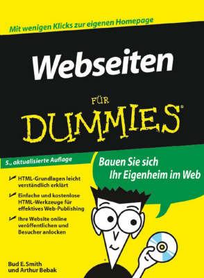 Webseiten Fur Dummies by Arthur Bebak