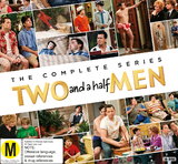 Two and a Half Men - Season 1-12 on DVD