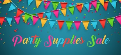 Party Supplies Sale!