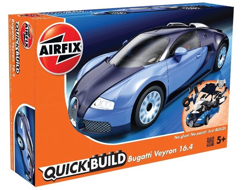 airfix quick build bugatti veyron model kit at mighty ape nz. Black Bedroom Furniture Sets. Home Design Ideas