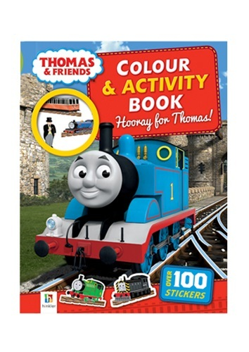 Hinkler: Thomas Colour and Activity Book image