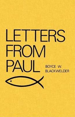 Letters from Paul by Boyce W. Blackwelder image
