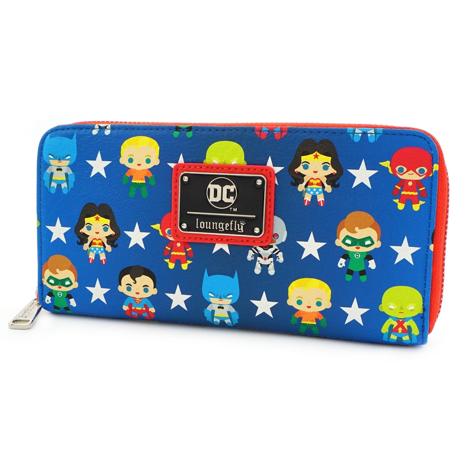 Loungefly: Justice League - Chibi Zip-Around Wallet image