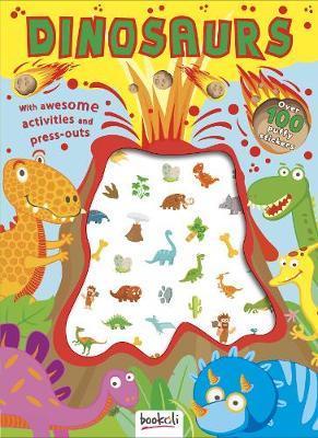 Dinosaurs - Puffy Sticker & Activity Book