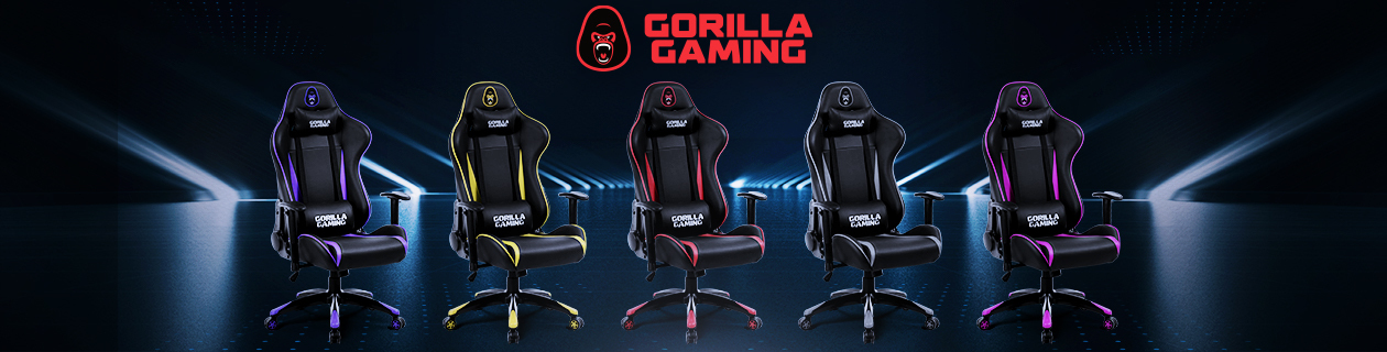 Awesome Gorilla Gaming Chairs & Desk SHIPPING NOW!