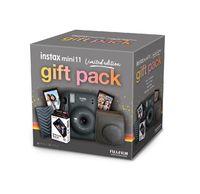 FujiFilm Instax Mini 11 Gift Pack - Charcoal Gray