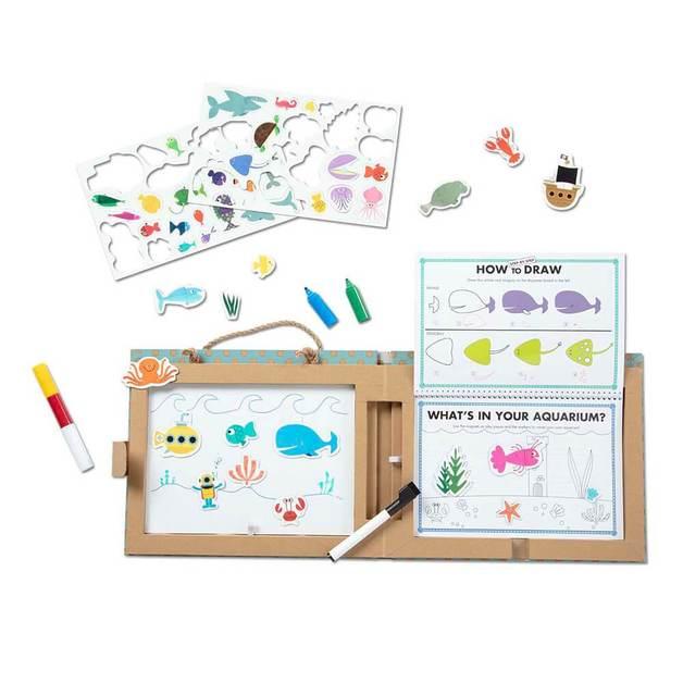 Melissa & Doug: Play, Draw, Create - Ocean