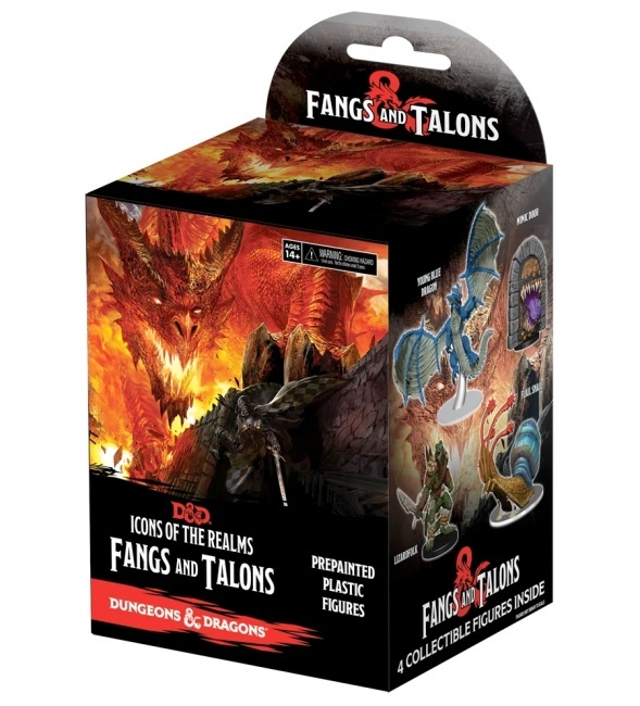 Dungeons and Dragons: Icons of the Realms Fangs and Talons Booster Pack