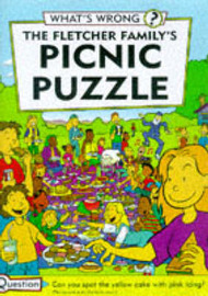 The Fletcher Family's Picnic Puzzle by Martin Oliver image