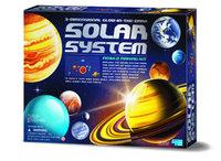 4M: Glow In The Dark 3D Solar System Mobile Kit