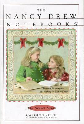 Nancy Drew Notebooks #003: The Secret Santa by Carolyn Keene image