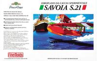Fine Molds Savoia S.21 Seaplane Fighter 1/72 Model Kit