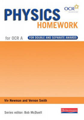 GCSE Science for OCR A Physics Homework Book by Bob McDuell