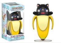 Bananya - Black Bananya Vinyl Figure image