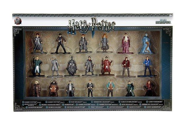 Jada Metal Minis: Harry Potter - Nano Metalfigs 20-Pack
