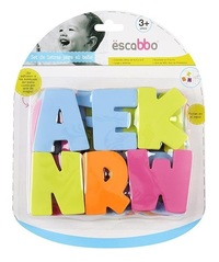 Escabbo: Eva Alphabet - Bath Letter Set
