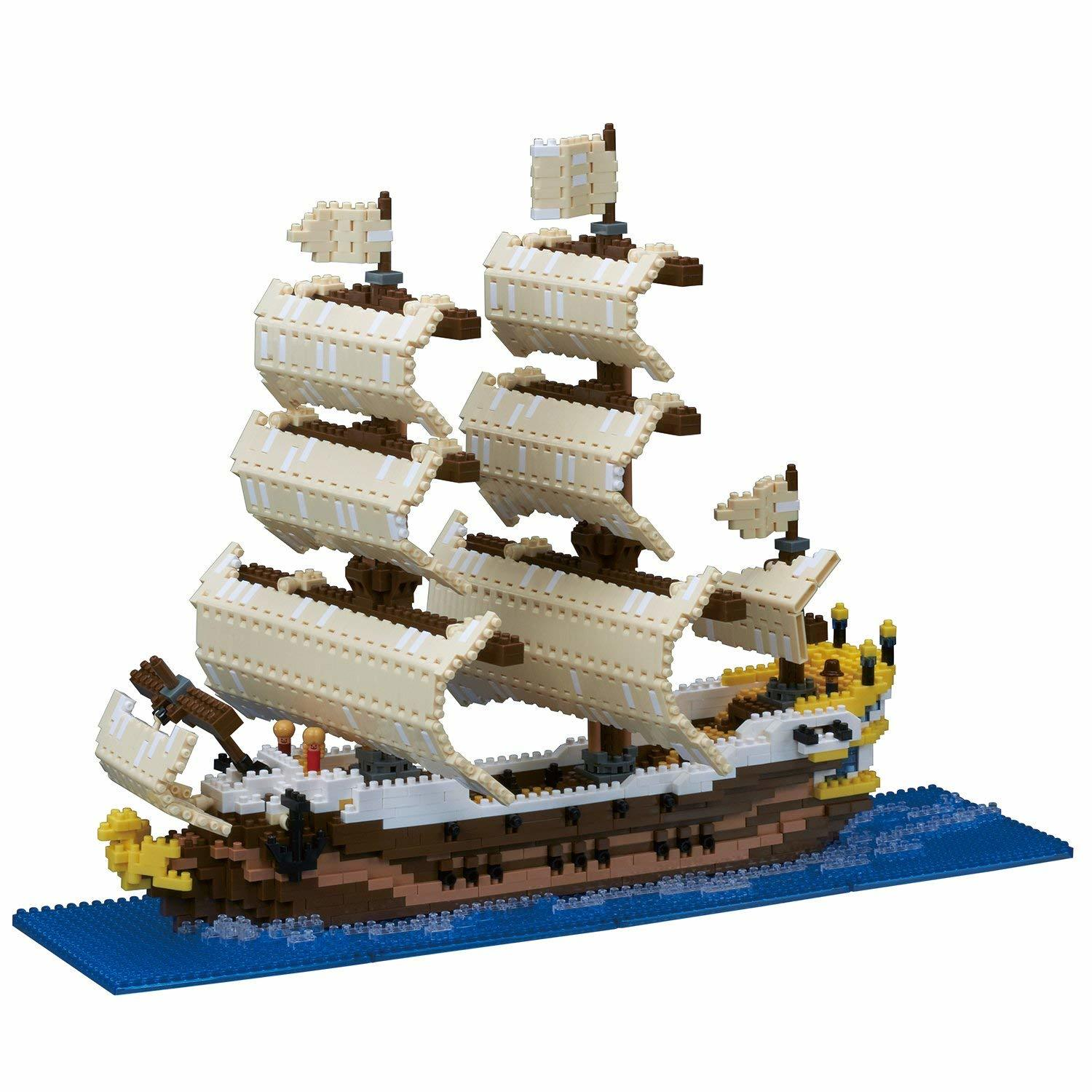 nanoblock: Free-Build Series - Deluxe Sailing Ship image