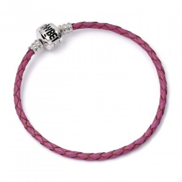 Harry Potter: Pink Leather Charm Bracelet - S image