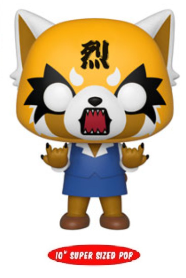 "Aggretsuko: Rage Retsuko - 10"" Super Sized Pop! Vinyl Figure"