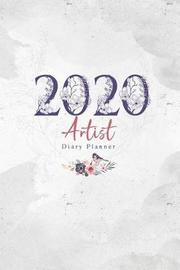 2020 Artist Diary Planner by Elizabeth Riley