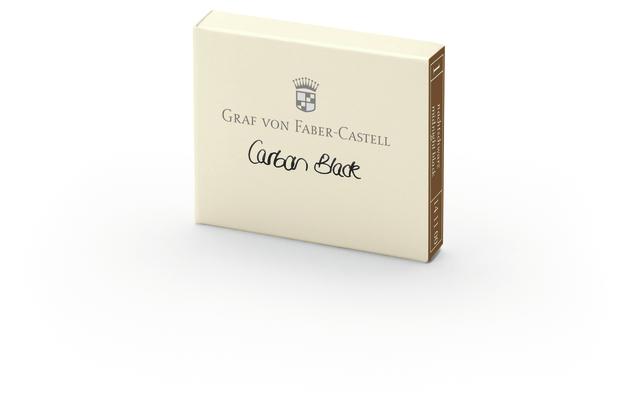 Graf von Faber-Castell: Ink Cartridge - Carbon Black (6 Pack)