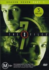 X-Files, The Season 7 Part 1 (3 Disc) on DVD