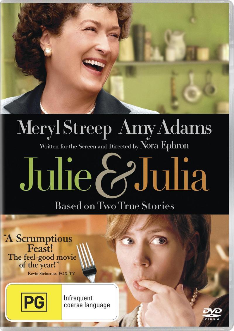 Julie & Julia on DVD image