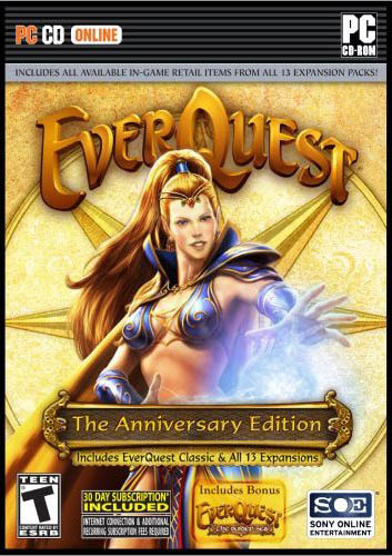 Everquest: The Anniversary Edition (inc 13 Expansion packs) for PC Games