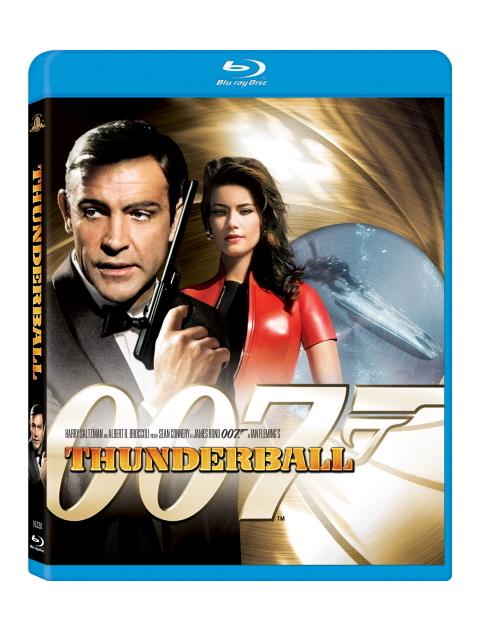 Bond: Thunderball on Blu-ray