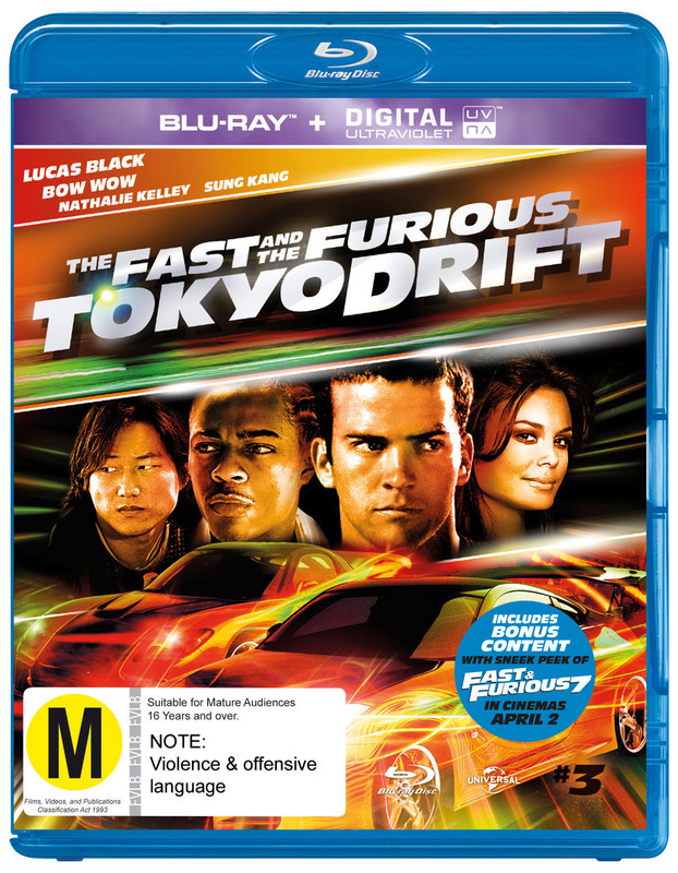 The Fast And The Furious: Tokyo Drift on Blu-ray