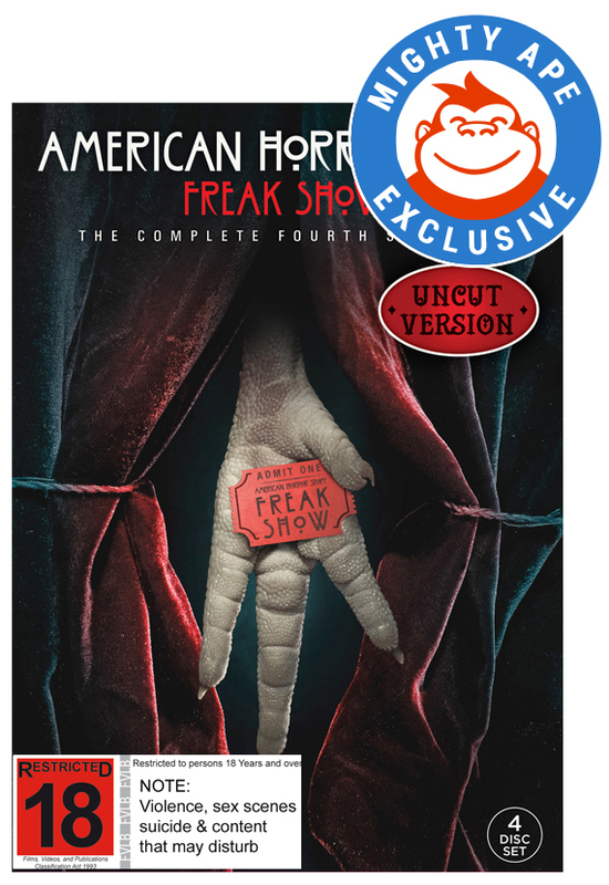 American Horror Story: Season 4 (Mighty Ape Exclusive) on DVD