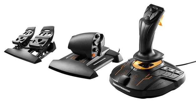 Thrustmaster T-16000M FCS Flight Pack for PC