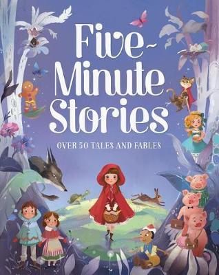 Five-Minute Stories by Parragon Books Ltd image