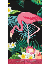 2019 Flamingo Two-Year-Plus Pocket Planner by Sellers Publishing Inc