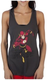DC Comics: The Flash - Mesh Back Tank-Top (Small)
