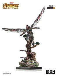 Avengers: Infinity War - 1/10 Falcon - Battle Diorama Statue