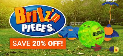 20% off Britz n Pieces!