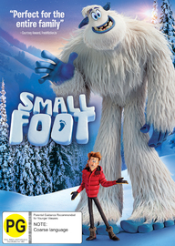 Smallfoot on DVD