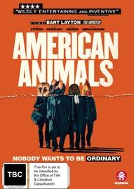 American Animals on DVD