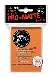 Ultra Pro: Pro-Matte Small Deck Protector Sleeves - Orange image