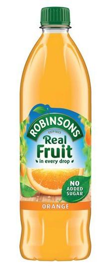 Robinsons Orange No Added Sugar 1L