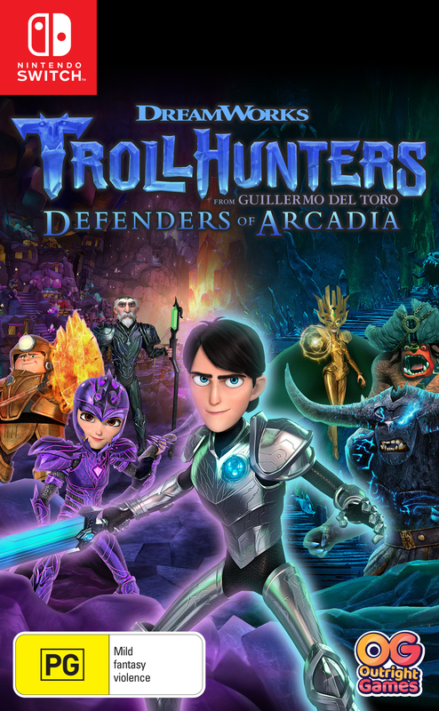 Trollhunters Defenders of Arcadia for Switch